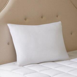 Smart Cool by Sleep Philosophy Smart Cool Microfiber Hypoallergenic Coolmax Down Alternative Sleeping Pillow Satin Piping