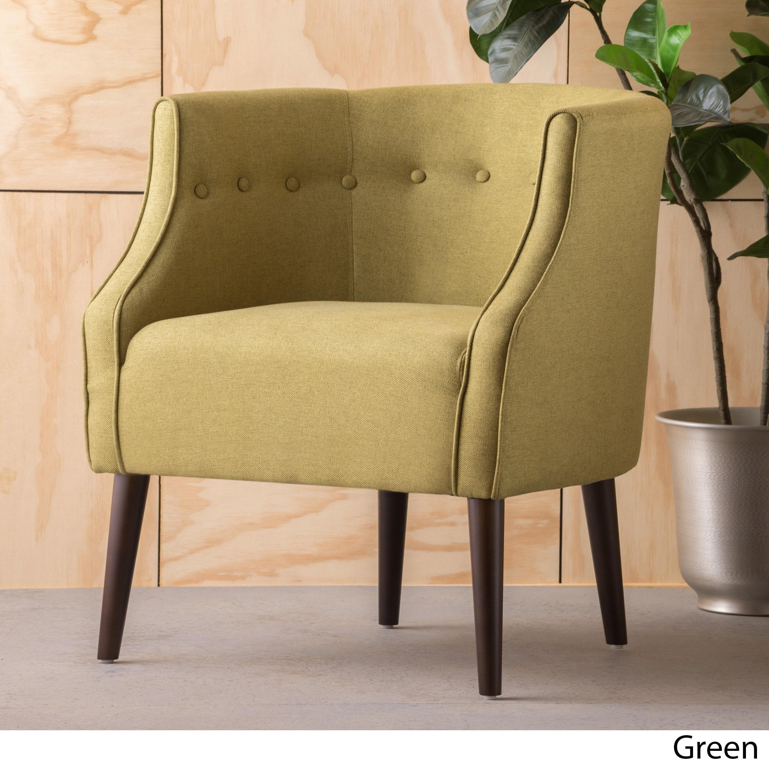 Brandi Fabric Club Chair By Christopher Knight Home