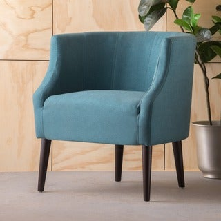 Sonnet Fabric Club Chair by Christopher Knight Home