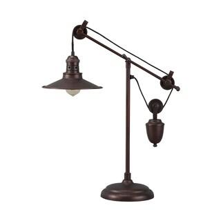 Signature Design by Ashley Kylen Bronze Finish Metal Desk Lamp