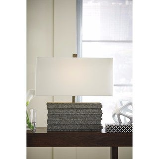 Signature Design by Ashley Jamaal Gray Poly Table Lamp