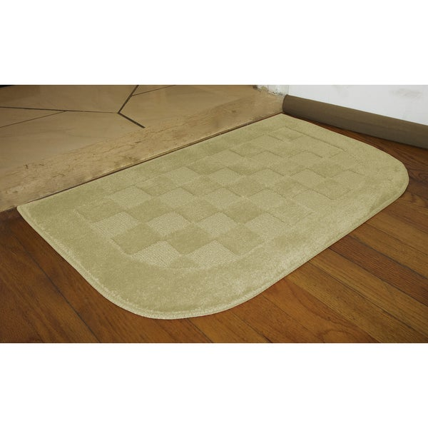 Sliced Checkerboard Accent Rug (1'6 x 2'6)