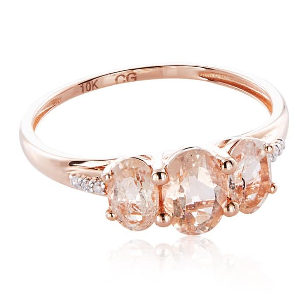 G-H,I2-I3 Diamond Wedding Band in 10K Pink Gold Size-4.5 1//20 cttw,