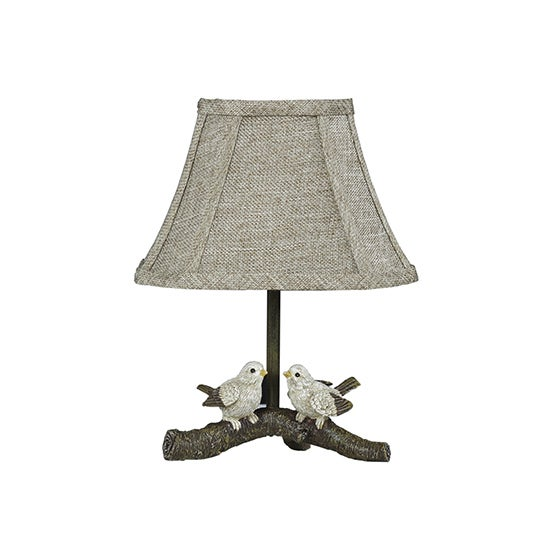 Somette Birds On Branch Accent Lamp