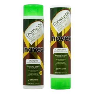Embelleze Novex Coconut Oil Shampoo and Conditioner 10.1-ounce Duo