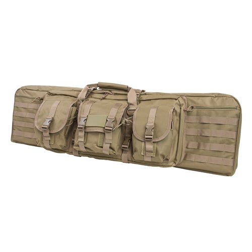 "NcStar Double Carbine Case 42"", Tan"