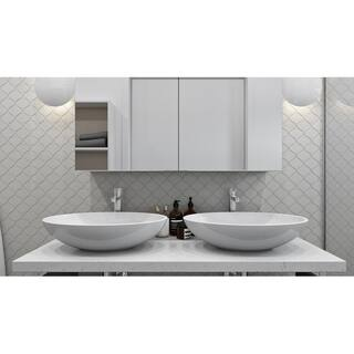 Giorbello Beige Porcelain 3-inch Arabesque Tile (13.35 Sq Ft)|https://ak1.ostkcdn.com/images/products/14207211/P20801327.jpg?impolicy=medium