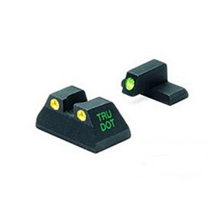Mako Group Heckler & Koch - Tru-Dot USP Full Size .40&.45ACP Green/Yellow Fixed Set