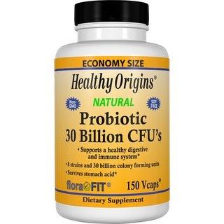Healthy Origins Probiotic 30 Billion CFU's (150 Veggie Caps)