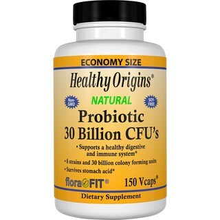 Healthy Origins Probiotic 30 Billion CFU's (150 Veggie Caps)