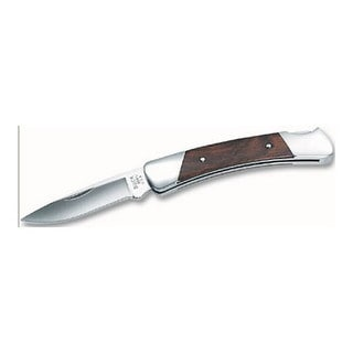 "Buck Knives Prince 2 1/2"" Plain Blade, Drop Point, Wood Handle, Boxed"