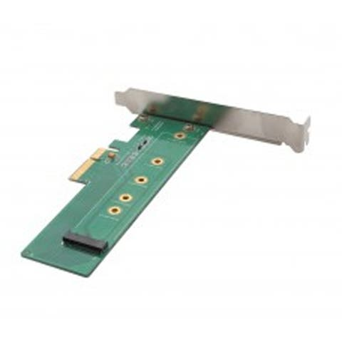 IOCrest PCI-Express 3.0 x4 M.2 NGFF Card Support 42mm / 60 mm / 80 mm SSD Type 2280-D5-M Connector on Board with LPB