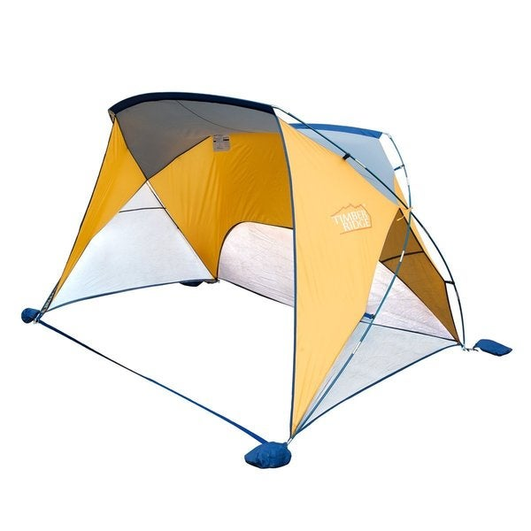 Timber Ridge Beach Cabana Sun Shelter Beach Tent with Carry Bag