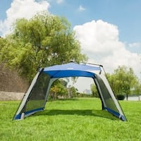 Timber Ridge Instant Screened Zip Side Cabin Tent