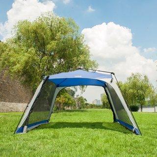 Timber Ridge Instant Screened Zip Side Cabin Tent