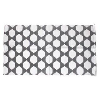 Thro by Marlo Lorenz Isabelle Metallic Foil Printed Rug (3' x 5') - 3' x 5'