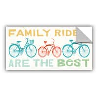 ArtAppealz Michael Mullan's Lets Cruise Family Rides II, Removable Wall Art Mural