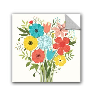 ArtAppealz Michael Mullan's Seaside Bouquet I, Removable Wall Art Mural