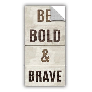 ArtAppealz Michael Mullan's Bold and Brave, Removable Wall Art Mural
