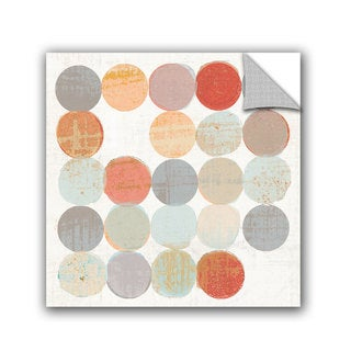 ArtAppealz Michael Mullan's Dots II Square II, Removable Wall Art Mural