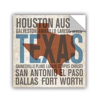 ArtAppealz Michael Mullan's Texas V2, Removable Wall Art Mural