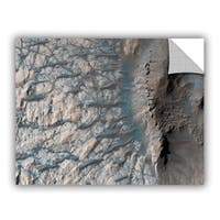 ArtAppealz Astronomy NASA's A Large Crater In The Southern Highlands, Removable Wall Art Mural