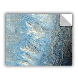 ArtAppealz Astronomy NASA's Impact Crater On Mars, Removable Wall Art Mural