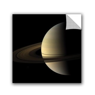 ArtAppealz Astronomy NASA's Natural Color View Of Saturn, Removable Wall Art Mural (4 options available)
