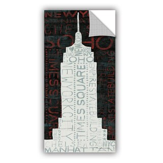 ArtAppealz Michael Mullan's Empire State Building, Removable Wall Art Mural