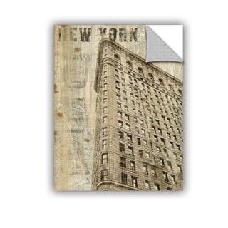 ArtAppealz Michael Mullan's Vintage NY Flatiron, Removable Wall Art Mural