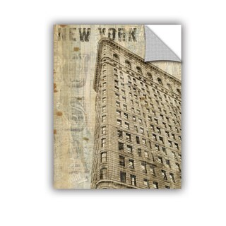 ArtAppealz Michael Mullan's Vintage NY Flatiron, Removable Wall Art Mural (4 options available)