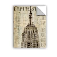 ArtAppealz Michael Mullan's Vintage Empire State Building, Removable Wall Art Mural