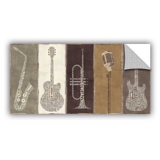 ArtAppealz Michael Mullan's Band Neutral, Removable Wall Art Mural