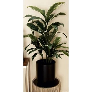 Benzara Black Metal Floor Planter|https://ak1.ostkcdn.com/images/products/14212524/P20805893.jpg?impolicy=medium