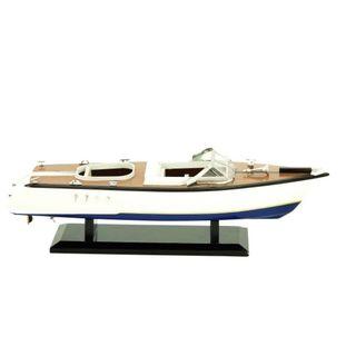 Benzara Wood 6-inch H x 19-inch W Yacht Decor