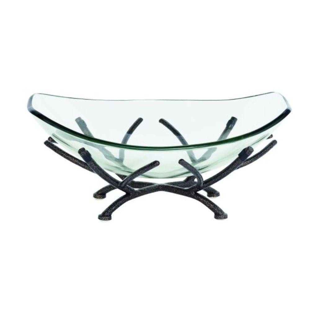 Metal Gl Decorative Bowl
