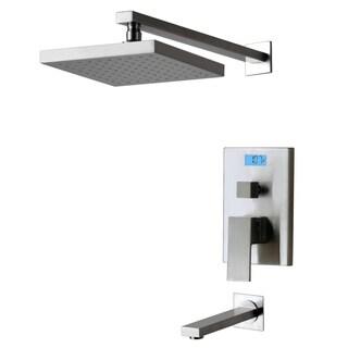 Digital Display & Thermal Backlight Tub/Shower Faucet
