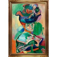 Henri Matisse 'Woman with a Hat' Hand Painted Oil Reproduction
