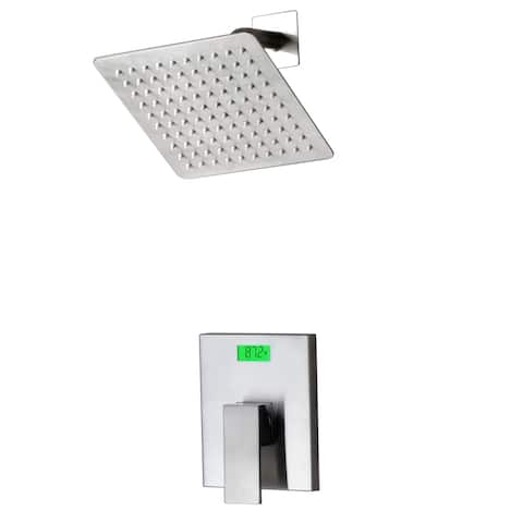 Digital Display and Thermal Backlight Shower Faucet