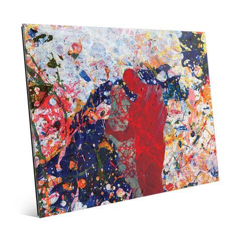 'First Sight Crimson' Acrylic Wall Art Print