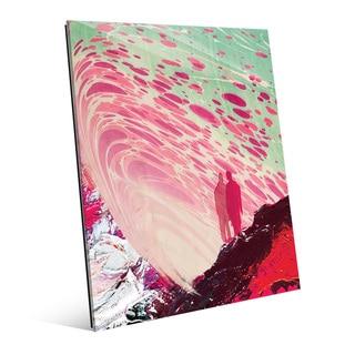 Cerise Self Reflection Acrylic Wall Art Print