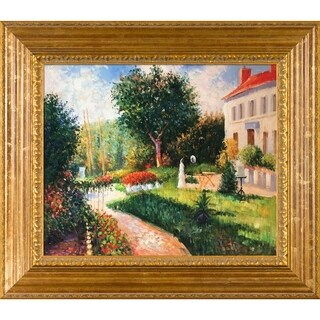 Pissarro 'The Garden of Les Mathurin' Hand Painted Oil Reproduction