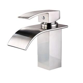 Sumerian Chrome Single Hole Bathroom Faucet