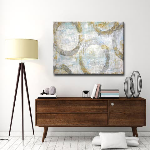 Simple Balance II' by Norman Wyatt, Jr. Wrapped Canvas Wall Art