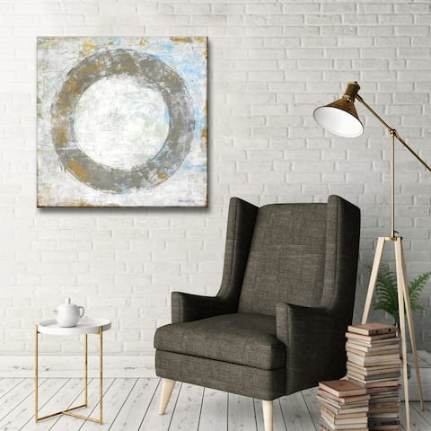 Simple Balance I' by Norman Wyatt, Jr. Abstract Wrapped Canvas Wall Art