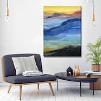 Ready2HangArt 'Rainbow Hills' by Norman Wyatt, Jr. Canvas Art
