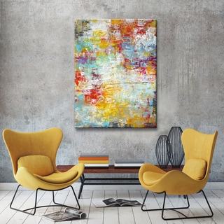 The Curated Nomad 'Mardi Gras' Canvas by Norman Wyatt