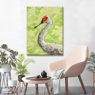 Porch & Den Sandhill Crane' Coastal Wildlife Canvas Art