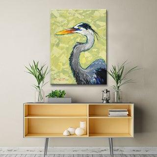 Sarah LaPierre 'Blue Heron' Ready2HangArt Canvas