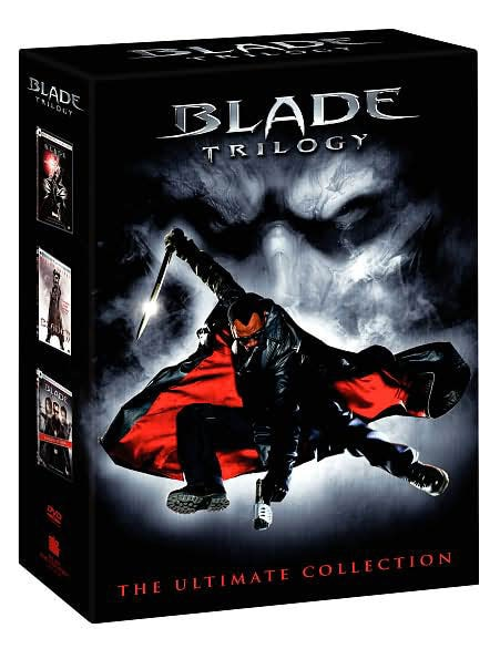 Blade Trilogy The Ultimate Collection Box Set (DVD)